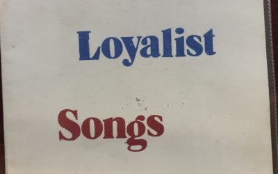 Orange – Loyalist Songs – Published by the Shankill Defense Association